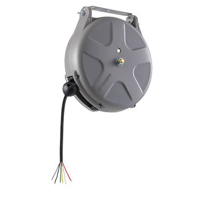 三協リール:無接点制御リール 24V/0.5A 8m 6芯無接点[ブレーキ式] SNS-608FA