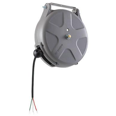 三協リール:制御リール 125V/6A 8m 3芯[ブレーキ式] SPS-308FA