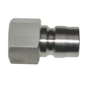 ヤマトエンジニアリング:中圧 汎用型[メネジプラグ] STY型 ステンレス STY16-PF-SUS