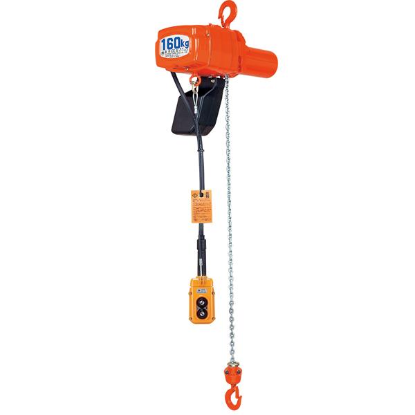 激安な 3m αHB-049:イチネンネット 2速型 単相小型電気チェーンブロック 象印:-DIY・工具