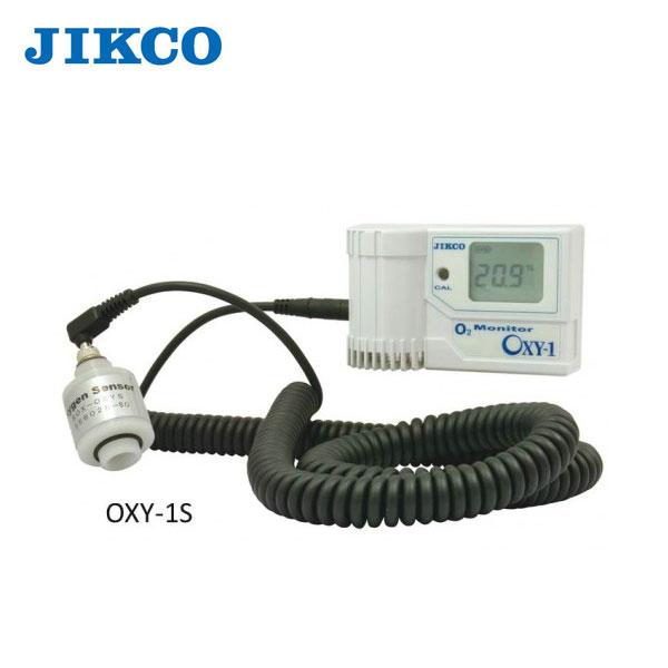 【代引不可】イチネンジコー:シンプル卓上酸素濃度計 OXY-1S