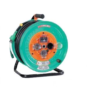 低価格の 標準型 50m 日動工業:防雨・防塵ドラム NW-EB53:イチネンネット-DIY・工具