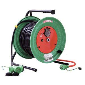 日動工業:延長コード型ドラム(びっくリール)防雨防塵型 RBW-E30S
