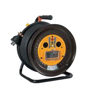 日動工業:三相200V一般型ドラム アース付 過負荷漏電保護専用 30m ND-EK330-20A
