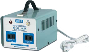 日動工業:昇圧専用トランス 短時間定格 簡易型 M-10S