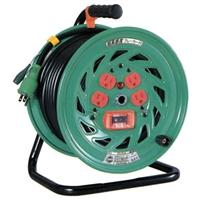 日動工業:超高感度(6mA)ブレーカ付電工ドラム 標準型 NFH-EK34