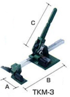 OH(オーエッチ工業):タイトロン ベルト荷締機 TKM-3