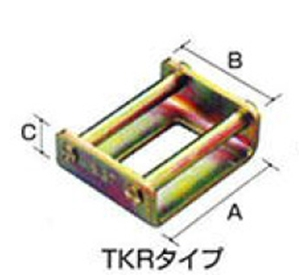 OH(オーエッチ工業):タイトロン 止め金具(トメロン) TKR35-3T