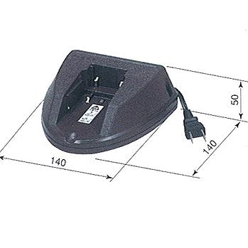 嵯峨電機工業:ストロングライト 充電式コードレス オプション 充電器(AC100V用) LB-C