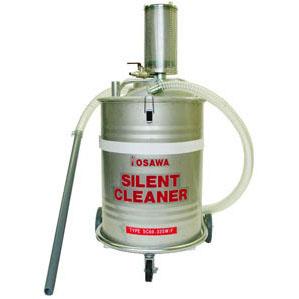 オオサワカンパニー:サイレントクリーナー 60lSUS缶付 SC60-32SW/F