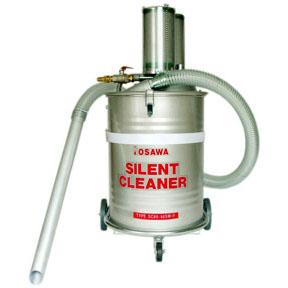 【代引不可】オオサワカンパニー:サイレントクリーナー 60lSUS缶付 SC60-50SW/F