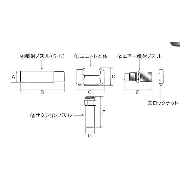 オオサワカンパニー:W301-ES-26用 ユニット本体のみ [1]