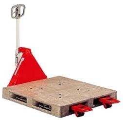 【代引不可】スギヤス:ハンドパレットトラック[両面パレット用] BMRP10-L50