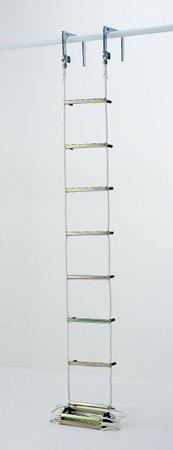 【代引不可】PiCa(ピカ・コーポレイション):避難用ロープはしご EK-4