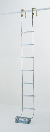 【代引不可】PiCa(ピカ・コーポレイション):避難用ワイヤーロープはしご ER-43
