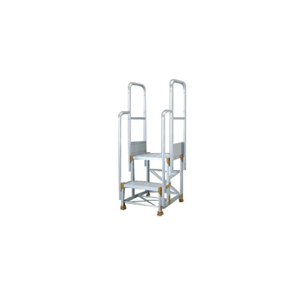 PiCa(ピカ・コーポレイション):FG型作業台用オプションパーツ[階段両手すり] FG-TE17B