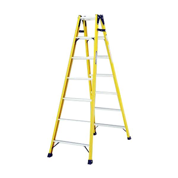 【法人限定】PiCa(ピカ・コーポレイション):FRP製 はしご兼用脚立 FRP-SL21