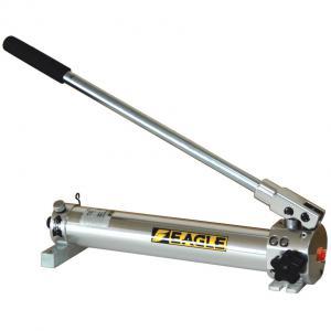 イーグル(今野製作所):アルミ製 手動型単動油圧ポンプ AKB-08S