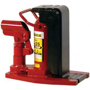イーグル(今野製作所):ポータブル型油圧爪つきジャッキ(安全弁付・レバー回転) 2.5トン G-25
