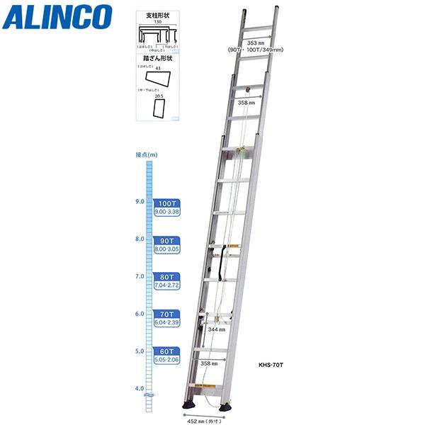 ALINCO(アルインコ):3連はしご KHS-90T