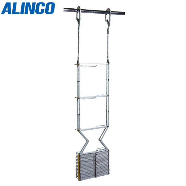 【代引不可】ALINCO(アルインコ):避難はしご(自在フック) OA-61