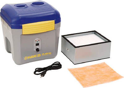 空気清浄式吸煙器 4962615035807 白光 ハッコーFA-430 100V 2極接地プラグ(1S) FA43001 3843998
