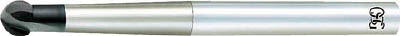 OSG 超硬エンドミル FX 2刃球形 R2(1本) 2008050