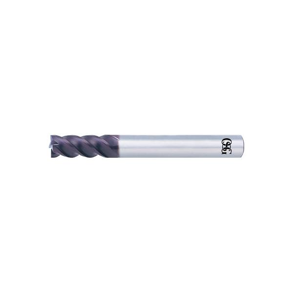 OSG 超硬エンドミル WX4刃ショート(強力重切削型) 10(1本) 6361447