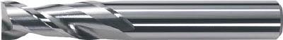 【代引不可】三菱 2枚刃超硬エンドミル(ミドル刃長) アルミ用 ノンコート 20mm(1本) 6591647