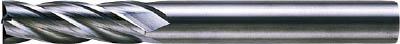 【代引不可】三菱 4枚刃超硬センタカットエンドミル(セミロング刃長) ノンコート 12mm(1本) 6593241