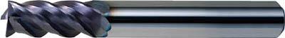 三菱 IMPACTMIRACLE超硬制振エンドミル VFMHV 4枚刃(1本) 6597718