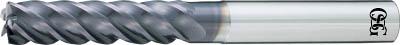 OSG  FXコート 5刃 チタン合金加工用不等リードエンドミル ロング UVX(1本) 7637209
