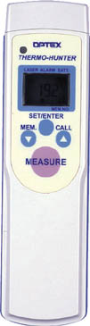 オプテックス ポータブル型非接触温度計(1個) PT7LD 2505631