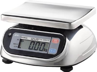 A&D 防塵・防水デジタルはかりウォーターボーイ0.005kg/10kg(1台) SL10KWP 2943425