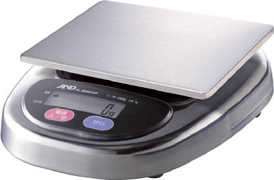A&D 防塵・防水デジタルはかりウォーターボーイ皿寸法174×137mm(1台) HL3000LWP 2972514