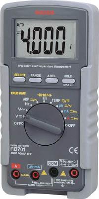 SANWA デジタルマルチメータ 真の実効値対応(1個) RD701 3255051