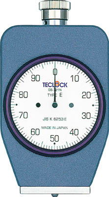 テクロック ゴム・プラスチック硬度計(1個) GS721N 3313972