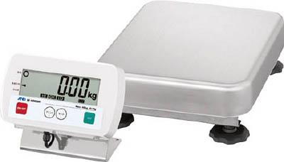 A&D 防水型デジタル台はかり 60kg/10g(1台) SE60KBM 3651061 防じん 工場 測定器