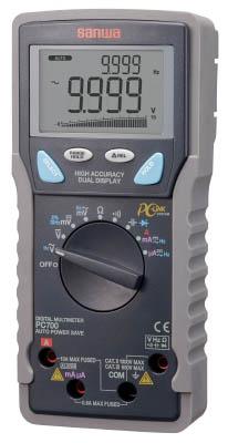 SANWA デジタルマルチメータ パソコン接続型(1個) PC700 3923886