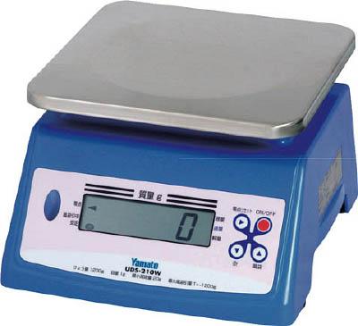 ヤマト 防水形デジタル式上皿自動はかり UDS-210W-20K(1台) UDS210W20K 3985733