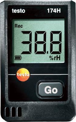 テストー ミニ温湿度データロガ(1個) TESTO174H 4113225