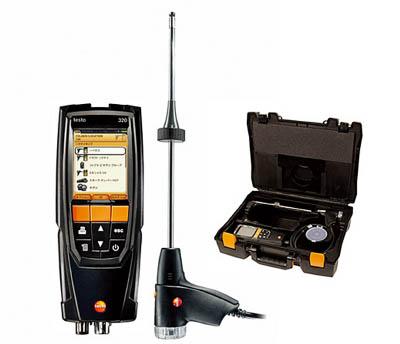 テストー 燃焼排ガス分析計(1個) TESTO320O2CO 4387023