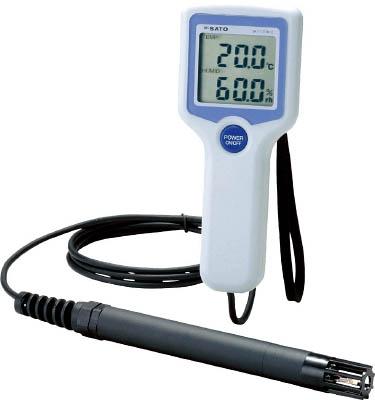温湿度計(標準タイプ) 4974425811199 佐藤 デジタル温湿度計SK-110TRH2(TYPE1)(8111-00)(1個) SK110TRH21 4514742