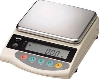 【海外限定】 カウンテイングスケール 6200g(1台) SJ6200 ViBRA 4536991:イチネンネット-DIY・工具