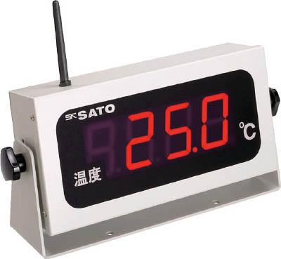 佐藤 コードレス温度表示器(8101-00)(1個) SKM350RT 4797027