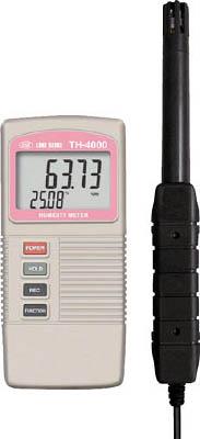デジタル温湿度計 4582244540628 ライン精機 デジタル温湿度計(1個) TH4000 7517360