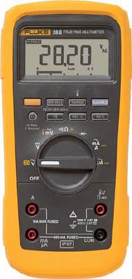 FLUKE 防水・防塵マルチメーター(温度測定機能・ローパスフィルター)(1台) 282 7657404