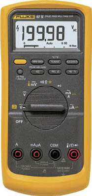 FLUKE 工業用マルチメーター87-5(真の実効値)(1台) 875 7657498