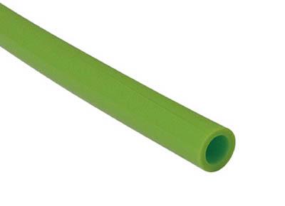 チヨダ TEタッチチューブ 12mm/100m ライトグリーン(1巻) TE12100LG 4809009