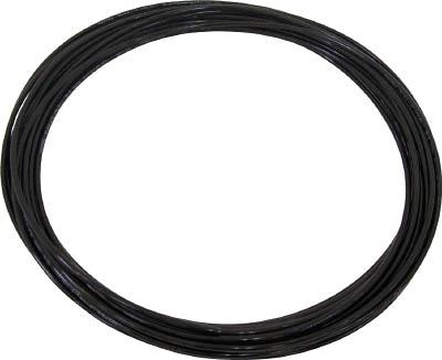 チヨダ TEタッチチューブ 12mm/100m 黒(1巻) TE12100BK 4855736